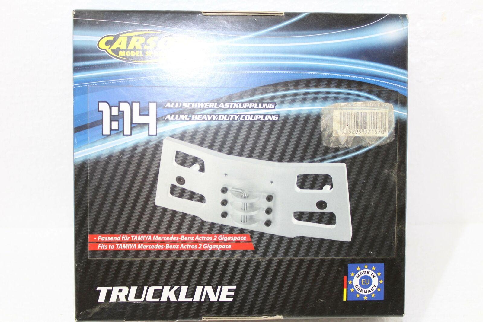 Carson 500907157 1 14 aluminio pesados embrague MB actros