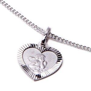 Schutzengel-Kinderkette-echt-Silber-Kette-mit-Anhaenger-Gravur-NEU-Taufe-Geschenk