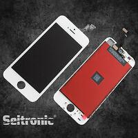 Display für iPhone 5S mit RETINA LCD Glas Scheibe Front Weiß White - Premium NEU