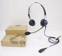 Jabra Biz 2400 Duo Noise-canceling Silver/black Headband Qd Headset 2409-820-105