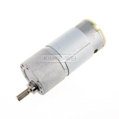 37mm 12V DC 4RPM Replacement Torque Gear Box Motor