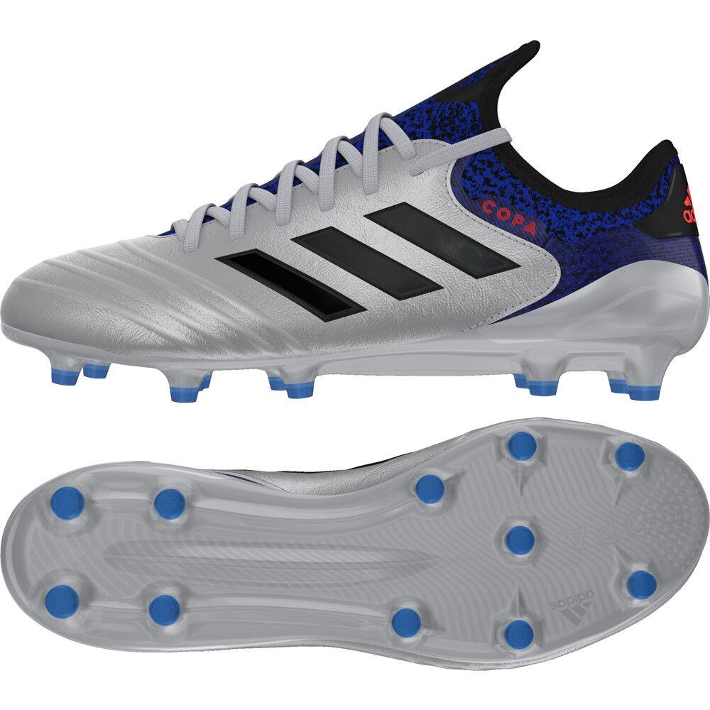 Adidas Copa 18.1 FG botas de fútbol Mettalic DB2166 plata de tamaño de Reino Unido 8 - 11