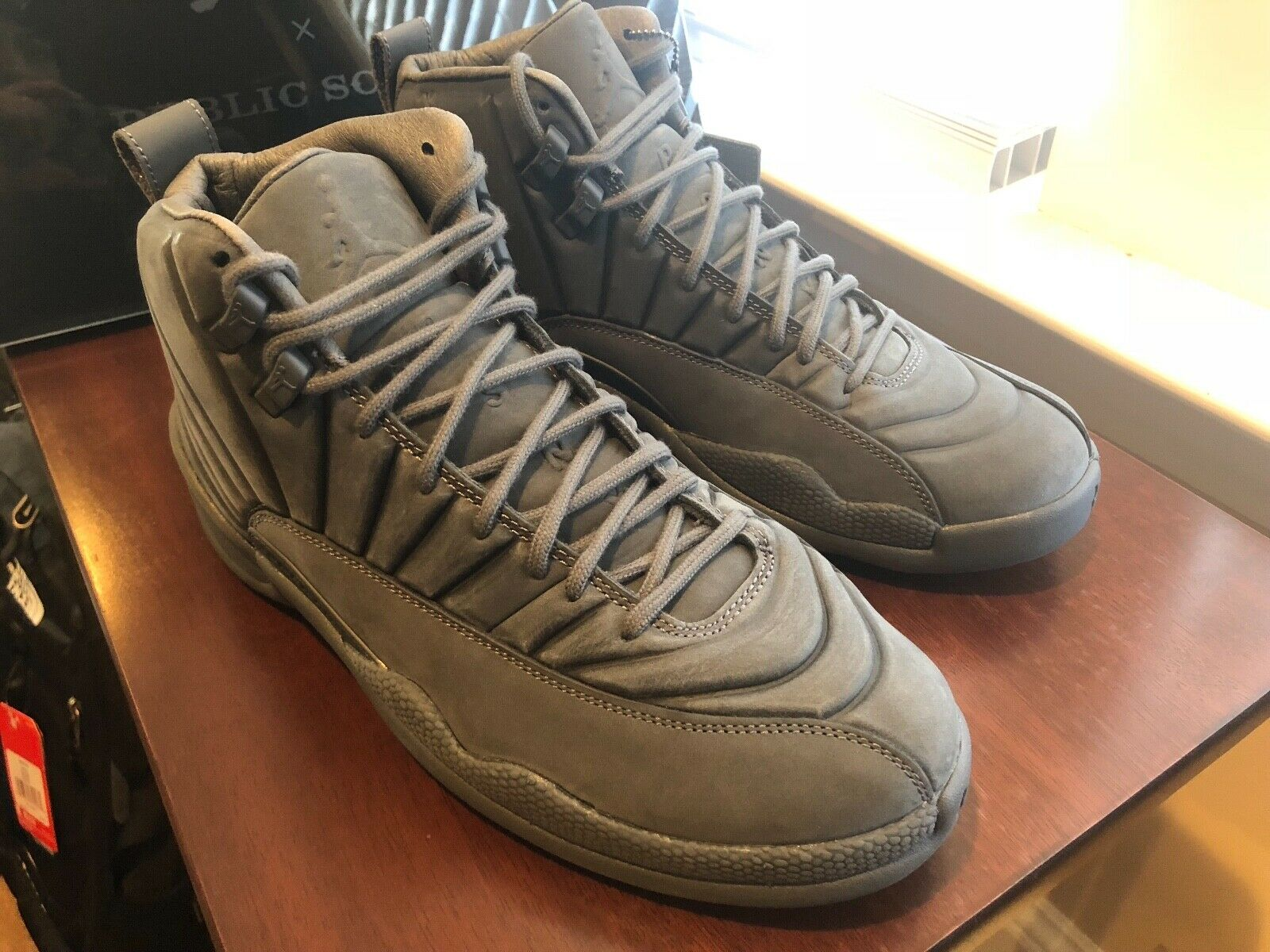 Nike Air Jordan 12 PSNY Retro Dark Grey Size 9. 130690-003 NIB w Receipt