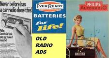 over 100 old radio ads on 1 CD-R in mp3