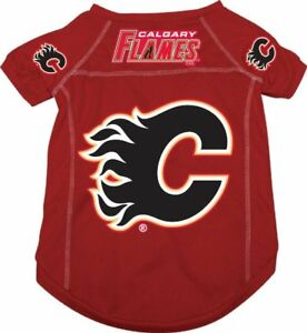 b80bb9ee2 Calgary Flames NHL Medium Mesh Pet Dog Jersey~SEE AD for SIZE ...