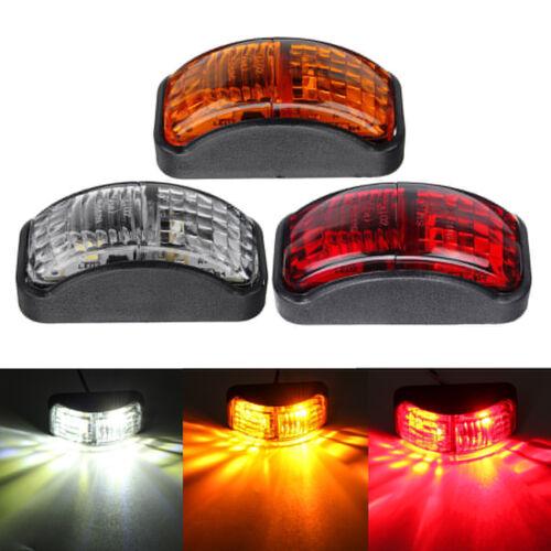 12-30V 2 SMD LED Side Marker Light Blinker Lamp For Truck Trailer Caravan Lorry
