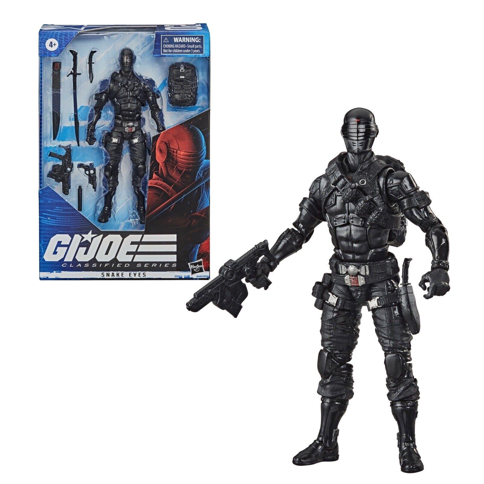 In Hand Snake Eyes MOC GI Joe Classified 6 In