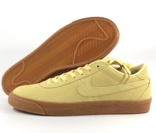 Nike SB Bruin Zoom PRM SE Lemon Wash Yellow Gum White 877045-700 Men/'s 10