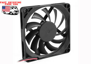 CASE-FAN-80mm-2-Pin-Connector-Cooling-Fan-PC-Cooler-Radiator-VERY-Quiet