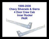 1999-2006 Chevy Silverado 4dr Crew Cab Inner Rocker Panels Pair