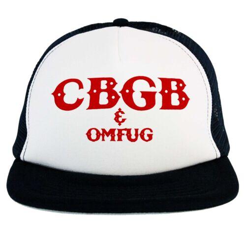 Punk Club Chapeau Cbgb Omfug Logo Musique Live Concert Camionneur Casquette