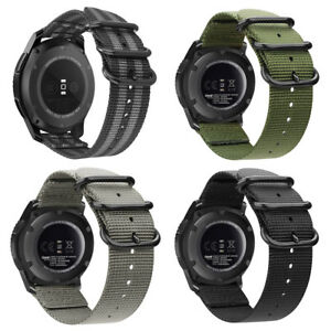Soft-Woven-Nylon-Watch-Band-Sport-Strap-For-Samsung-Gear-S3-Classic-Frontier