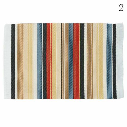 1:12 Puppenhaus Teppich Zubehör Miniatur Bodenbelag Home Decor Mat 2019 C9Z4