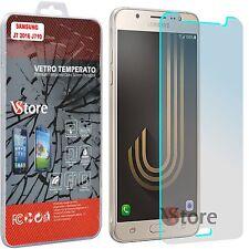 "Pellicola in Vetro Per Samsung Galaxy J7 2016 J710F Salva Display LCD 5,5"""