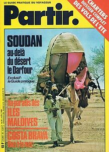 FidèLe Partir - N°60 - Avril 1980 - Darfour Iles Maldives Costa Brava