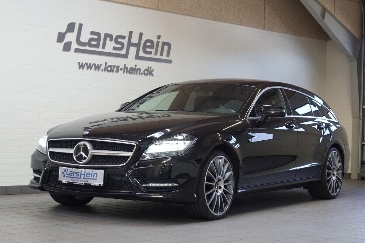 Mercedes CLS350 3,0 CDi SB aut. 4-M BE 5d - 399.800 kr.