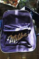 Milka Schokolade Rucksack.....mit Etlichen Taschen Und Reißverschluß.- Neuware