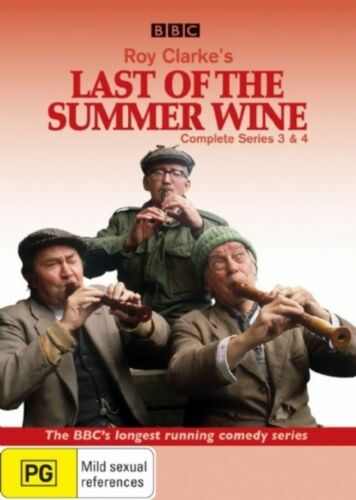 1 of 1 - Last of the Summer Wine: Series 3 - 4  - DVD - NEW Region 4