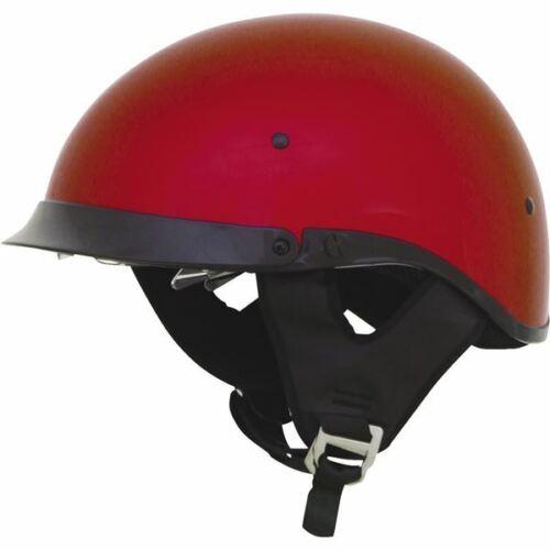 Candy Apple Red All Sizes AFX FX-200 Half Helmet