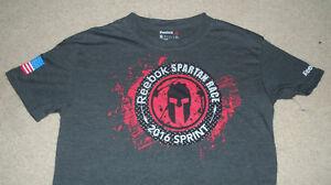 eee44670e0373 REEBOK Spartan Race T-Shirt Size SMALL