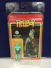 "Abe Sapien Super7 x Funko Hellboy 3.75"" Action Figure w/ Display Case"