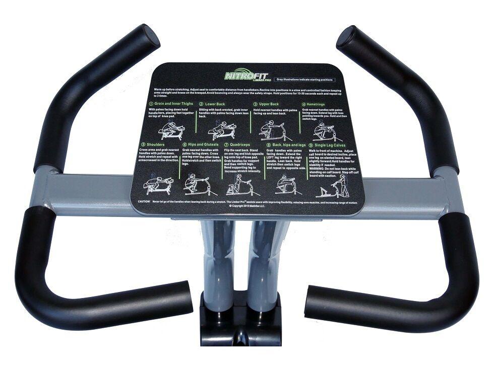Nitrofit ágil Pro Pro Pro Máquina estiramiento máquina de estiramiento. sólo Asiento Ajustable 0642c5