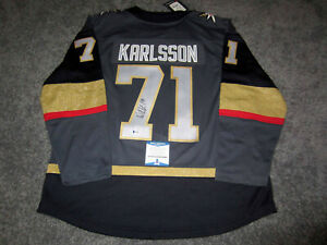 ae6975b5d99 Image is loading WILLIAM-KARLSSON-Vegas-Golden-Knights-SIGNED -Autographed-JERSEY-