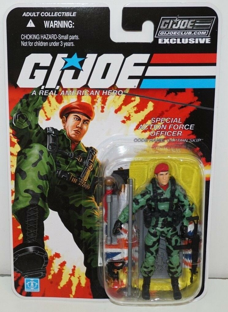 Gi - joe cobra collectors club exklusive betriebsstrukturerhebung 6-04 z eingreiftruppe captain skip moc