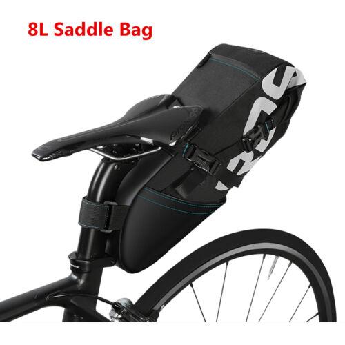 Practical Large Bike Saddle Bag MTB Seat Pack Bag Bicycle Pocket Riding Cycling