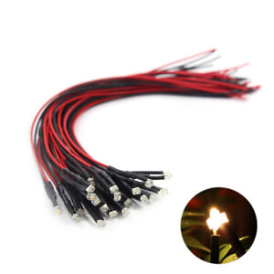 20pcs-Pre-Wired-1-8mm-Warm-White-Led-Light-Set-with-20cm-Wire-12V-L1218WM