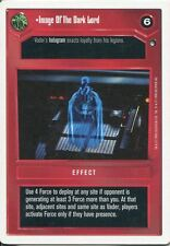 Star Wars CCG Hoth White Border Image Of The Dark Lord