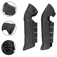 Motorcycle Racing Rider Kneepad Leg Knee Leather Armor Protector Warm Waterproof