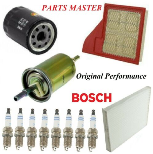 Tune Up Kit Filters Spark Plugs For FORD MUSTANG V6 3.7L /& V8 5.0L 2011-2014