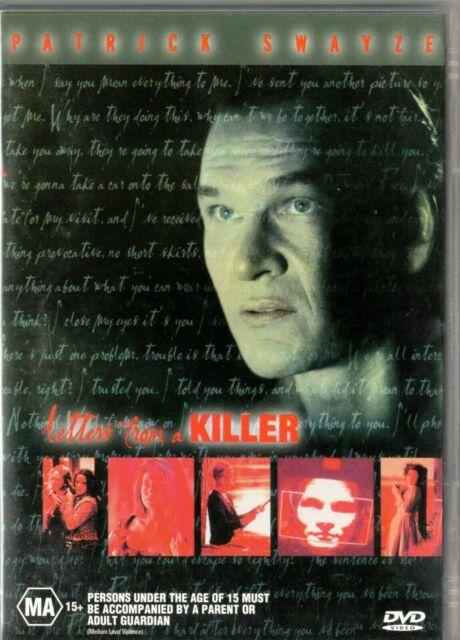 Letters From A Killer DVD Patrick Swayze - RARE MOVIE - REGION 4 AUSTRALIA