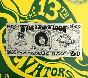 The-13th-Floor-psychedelic-bill-Limited-Edition-Austin-TX-Art-Roky-Inspired