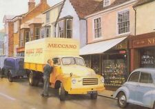 Bedford A Type Lorry Truck Dinky Toy Meccano Birthday Card