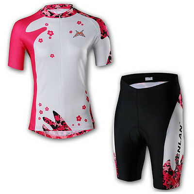 Top GEL PAD Women's Cycling Clothing Bike Bicycle cycling jersey & Trouser Sets