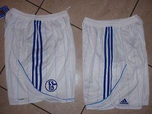 Neue-S-04-Schalke-Adidas-Hose-Groesse-M-weiss-blau
