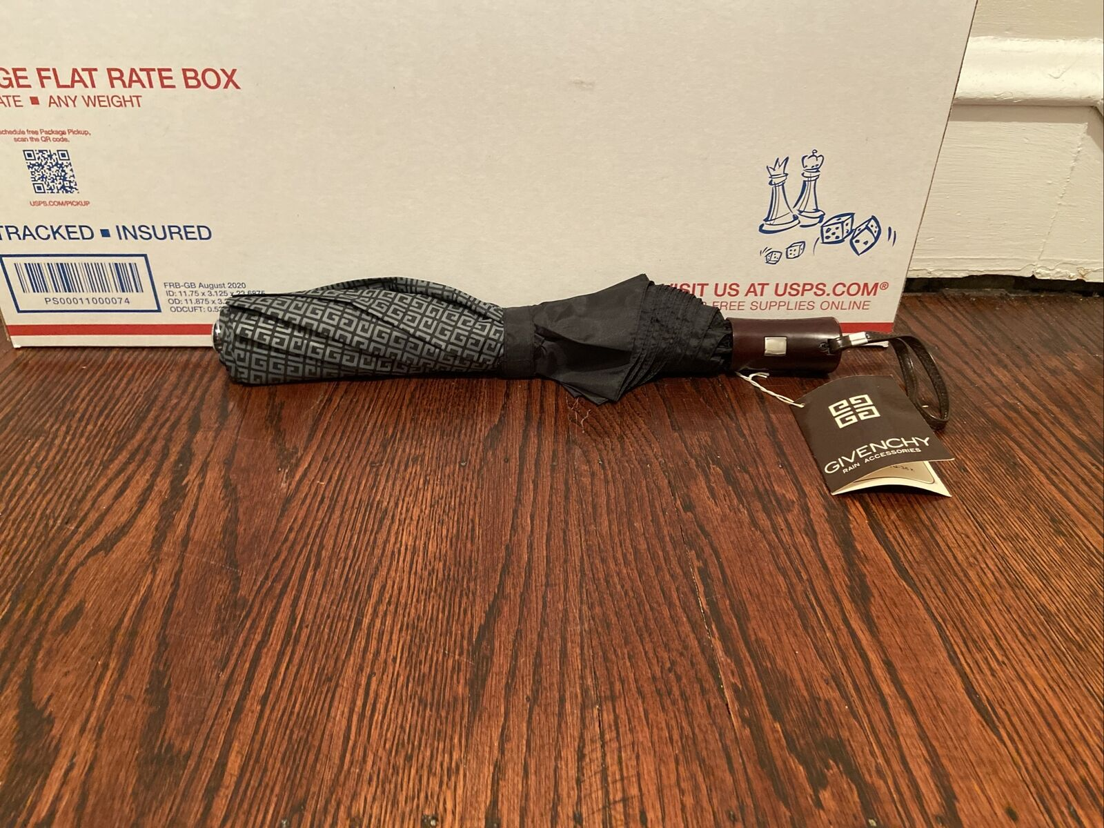 Vintage Givenchy One Touch Automatic Umbrella W T… - image 3