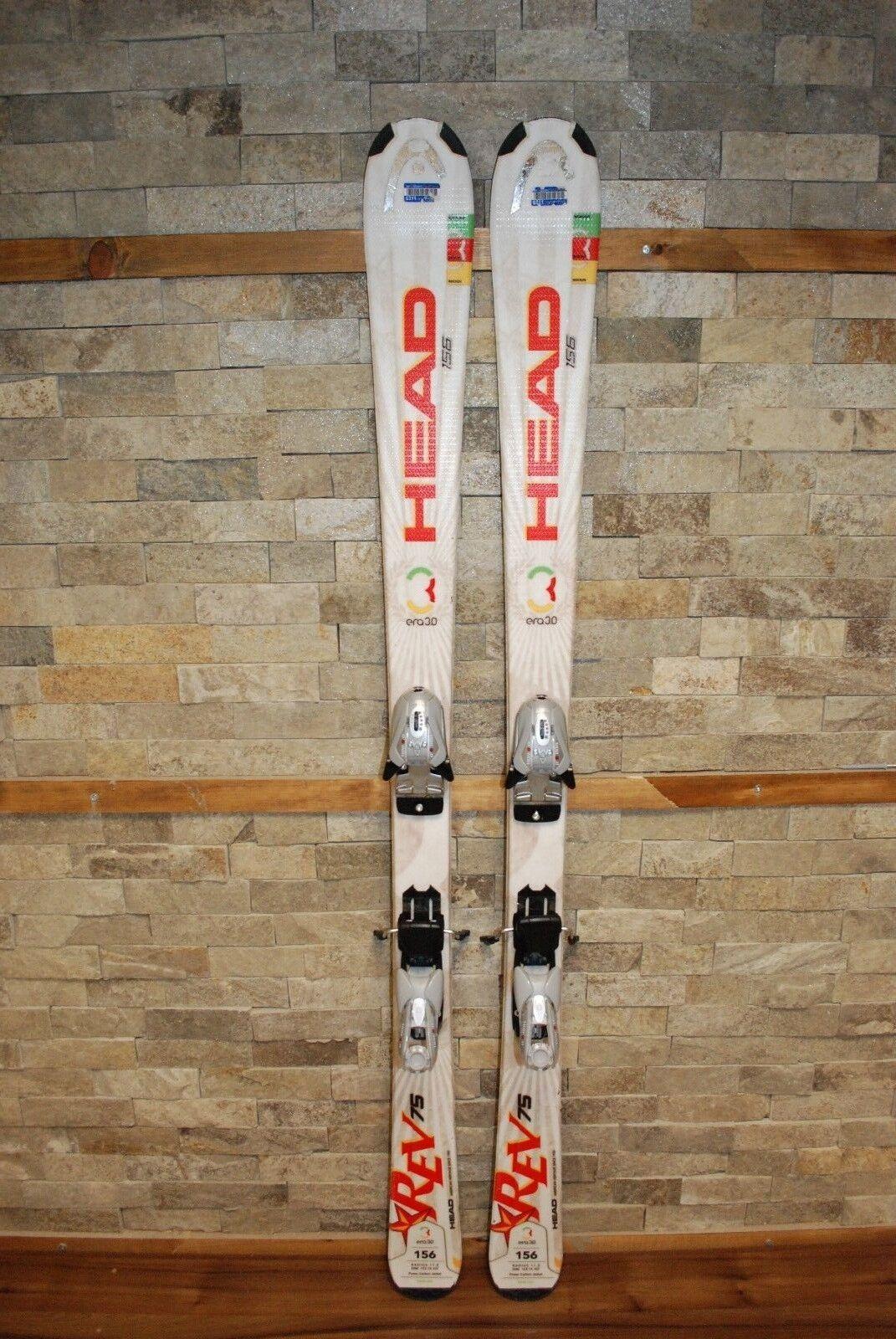HEAD REV 75R 156 cm Ski + BRAND NEW Marker EPS Mod 9.0 Bindings.
