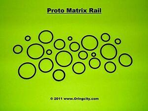 PROTO MATRIX RAIL -  PMR 2008 - 1 O-Ring Rebuild Kit