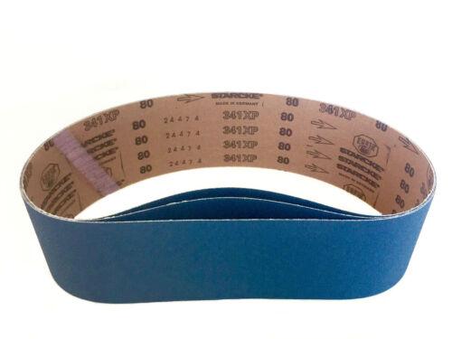 Sanding Belts 4 X 36 Zirconia Cloth Sander Belts 6 Pack 80 Grit
