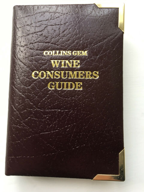 NEW Leather Bound Gem Guide to Wine (Collins Gems) Paul Abbot, David Rowe 1991