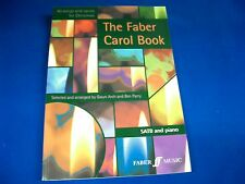 """""""The Faber Carol Book"""" Sheet Music for SATB Sax and Piano, 40 Christmas Songs"""