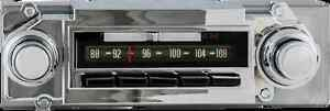 1964-66-Chevy-and-GMC-Truck-AM-FM-Stereo-039-Dream-Line-039-Bluetooth-Radio