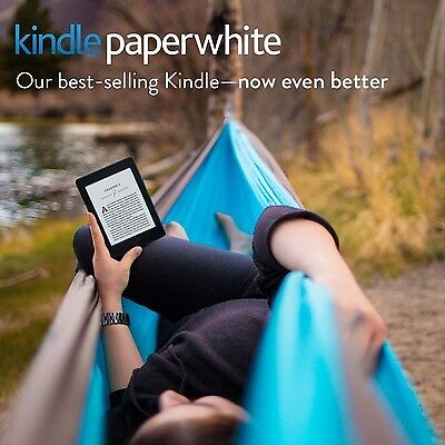 """Kindle Paperwhite 6"""" High-Resolution Display (300 ppi) with Built-in Ligh... New"""