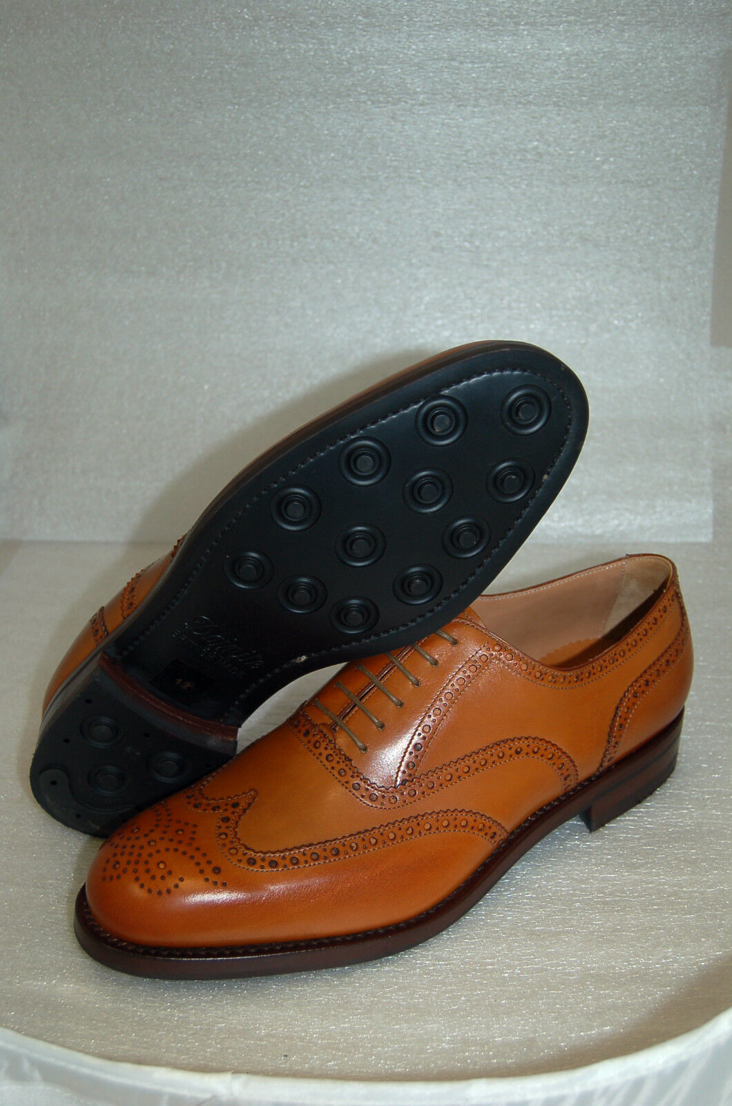 MAN - 46 - 12eu-OXFORD WING WING 12eu-OXFORD CAPTOE-CALF TAN- FRANCESINA CUOIO - LTH SOLE+DAINITE fbd3e3