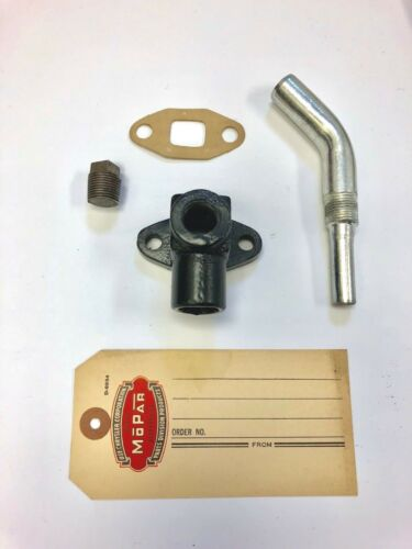 Gasket 1946 1947 1948 1949 1950 1951 1952 1953  Dodge Heater Bypass Elbow Tube