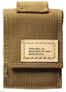 ZIPPO ★ TACTICAL POUCH (COYOTE)