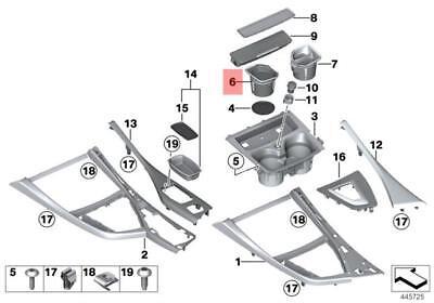 Genuine BMW 1 2 SERIES F20 F21 F22 F23 Storage Tray Cup Holder LHD 51169257208